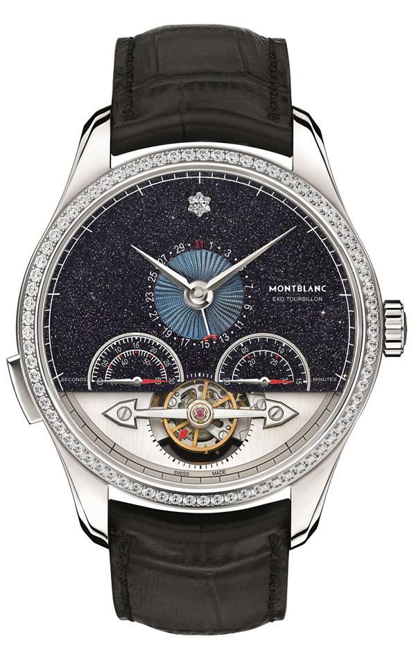 Montblanc Heritage Chronométrie ExoTourbillon Minute Chronograph Vasco Da Gama Diamonds Limited Edition 25