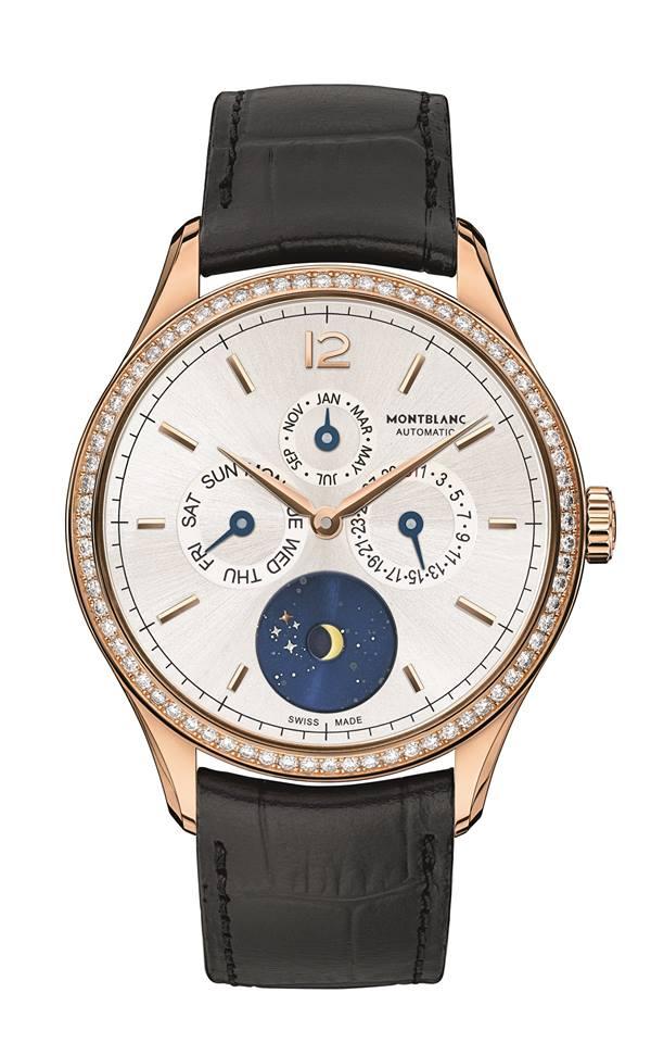 Montblanc Heritage Chronométrie Quantième Annuel Vasco da Gama Diamonds Limited Edition 90