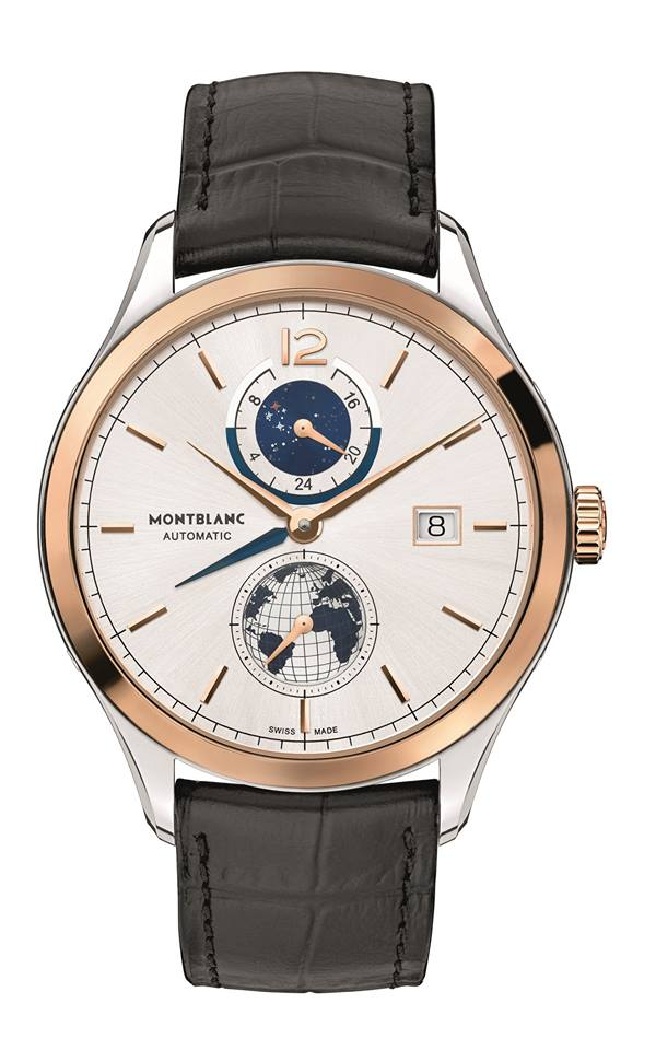 Montblanc Heritage Chronométrie Dual Time Vasco Da Gama Limited Edition 238