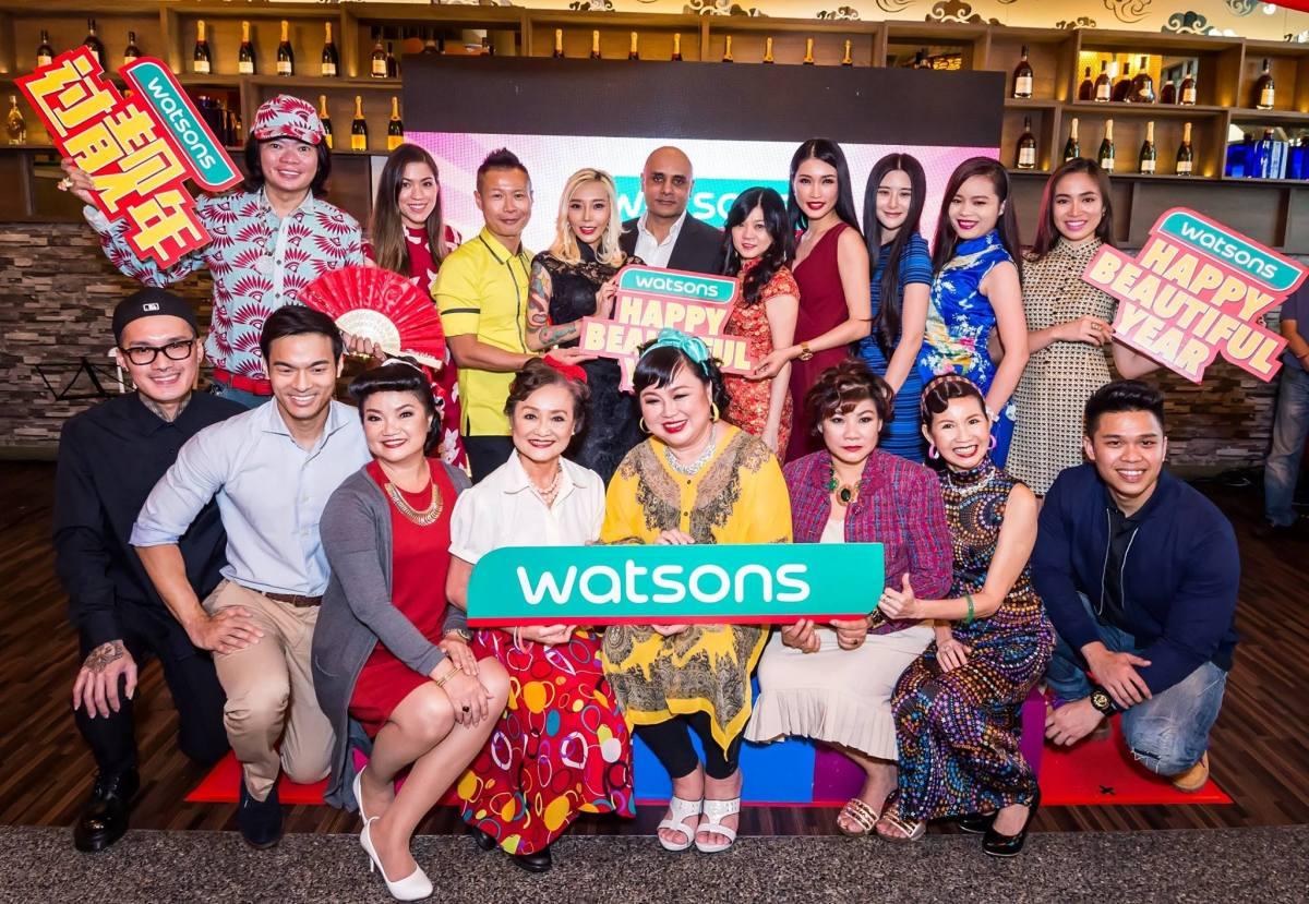 Watsons Malaysia CNY 2016 CampaignLaunch