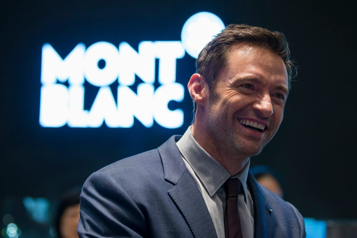 Montblanc Brand Ambassador Hugh Jackman at Watches&Wonders HongKong