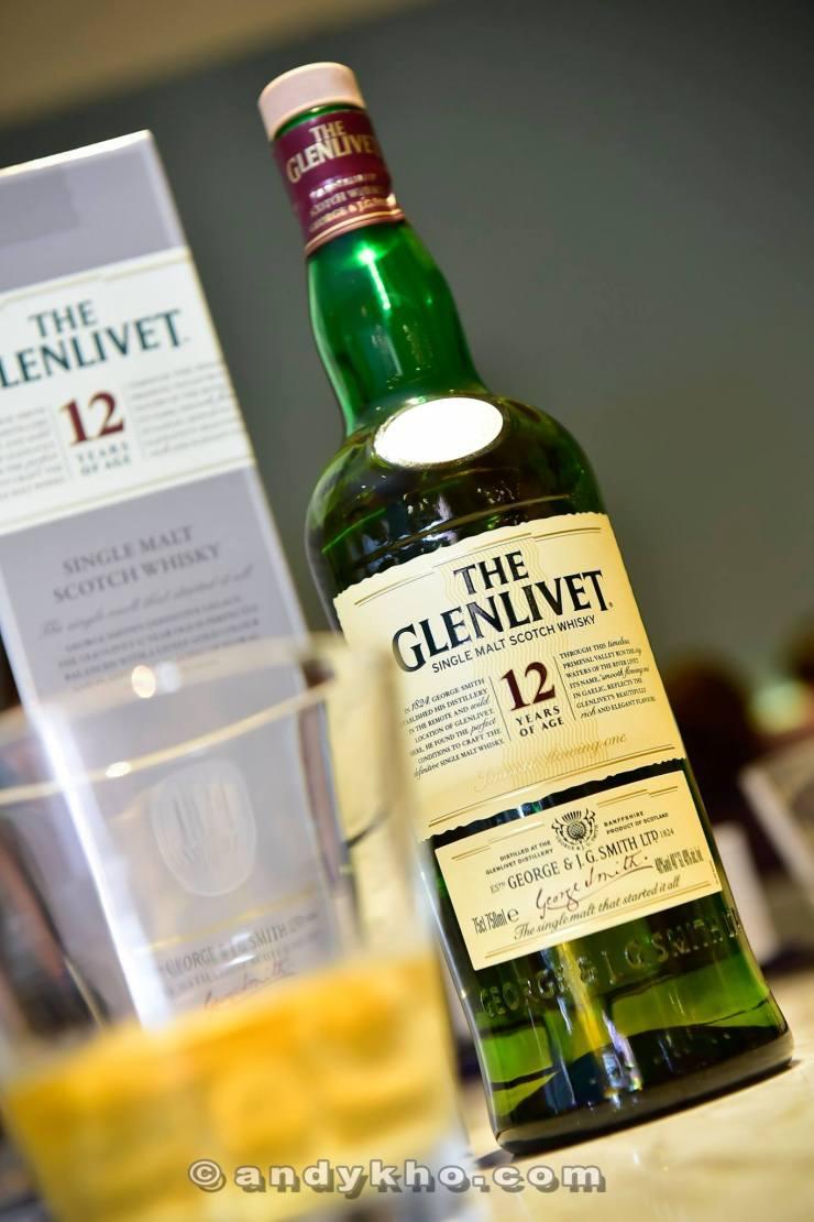 Glenlivet were nice enough to sponsor some single malt whisky to go with the celebration
