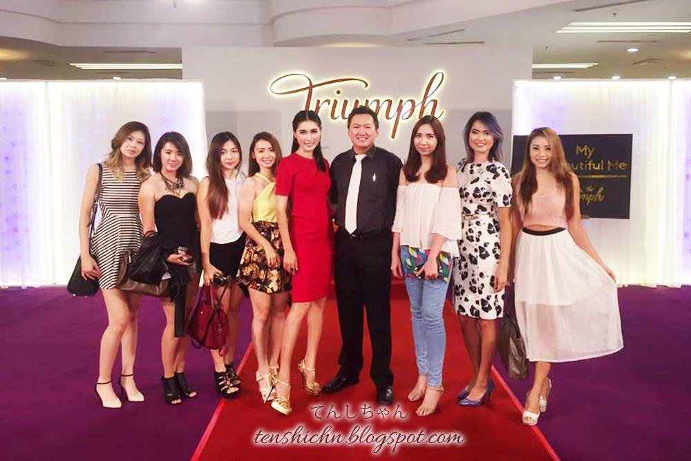 "Triumph ""My Beautiful Me"" Launch"