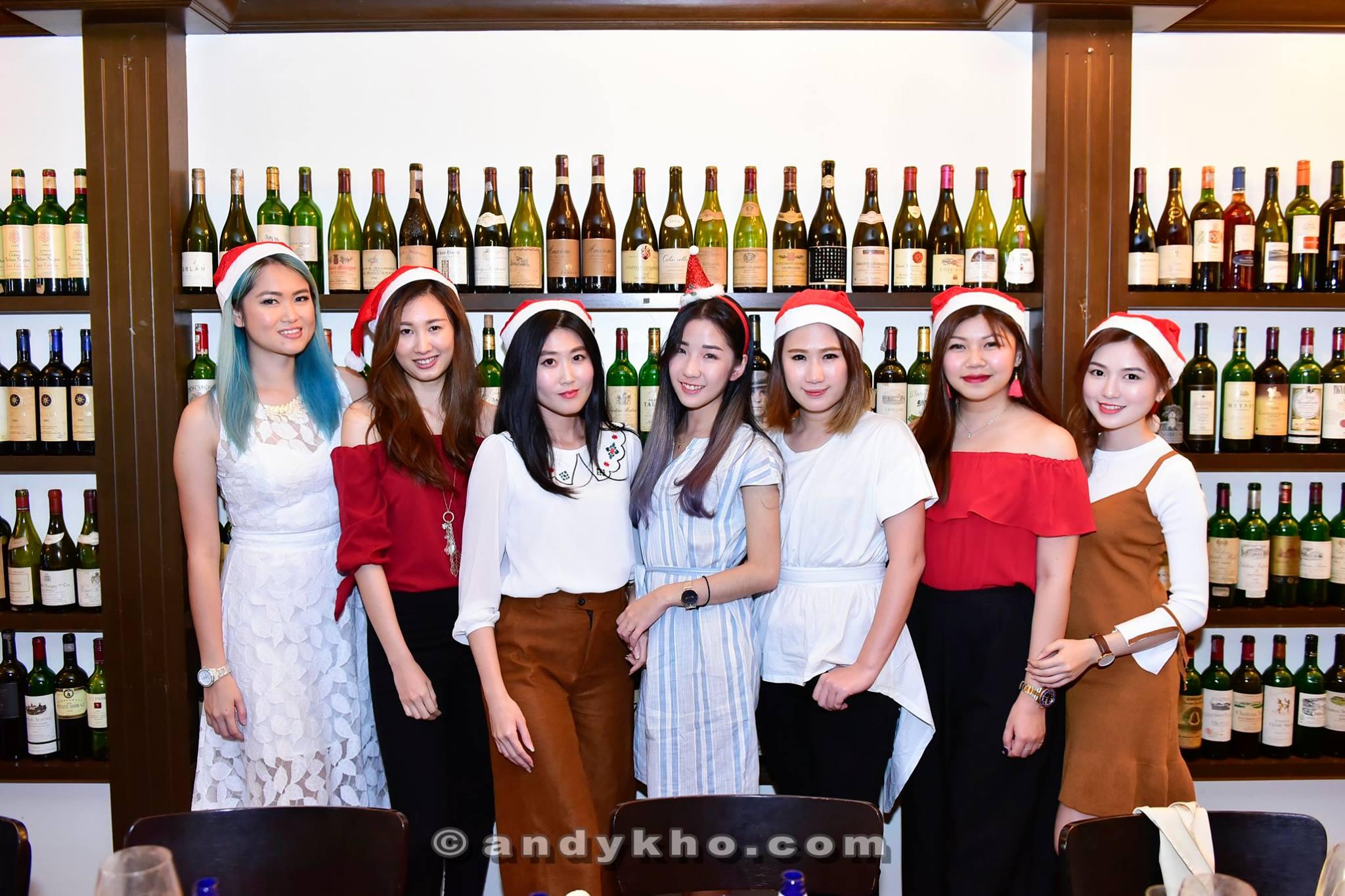 MHB and Friends Christmas Lunch 2017 at Cava @ Jalan Bangkung, Bangsar