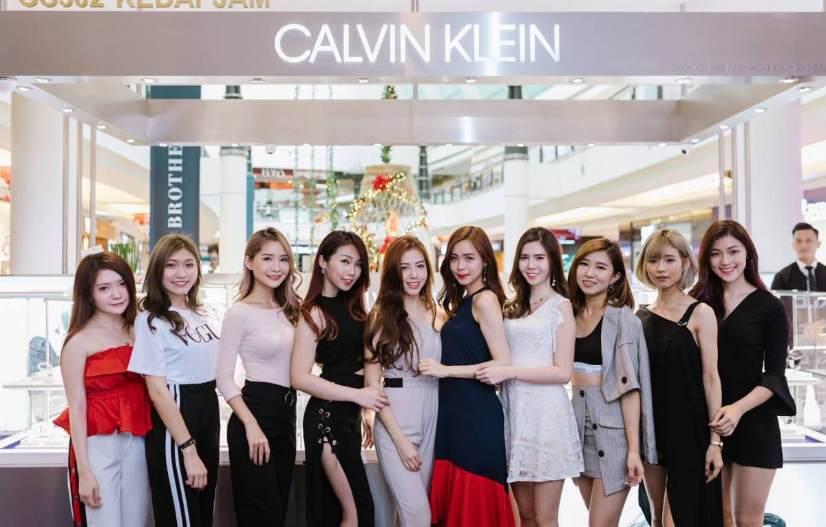 Calvin Klein Watch and Jewelry Kiosk Launch at Suria KLCC, Kuala Lumpur