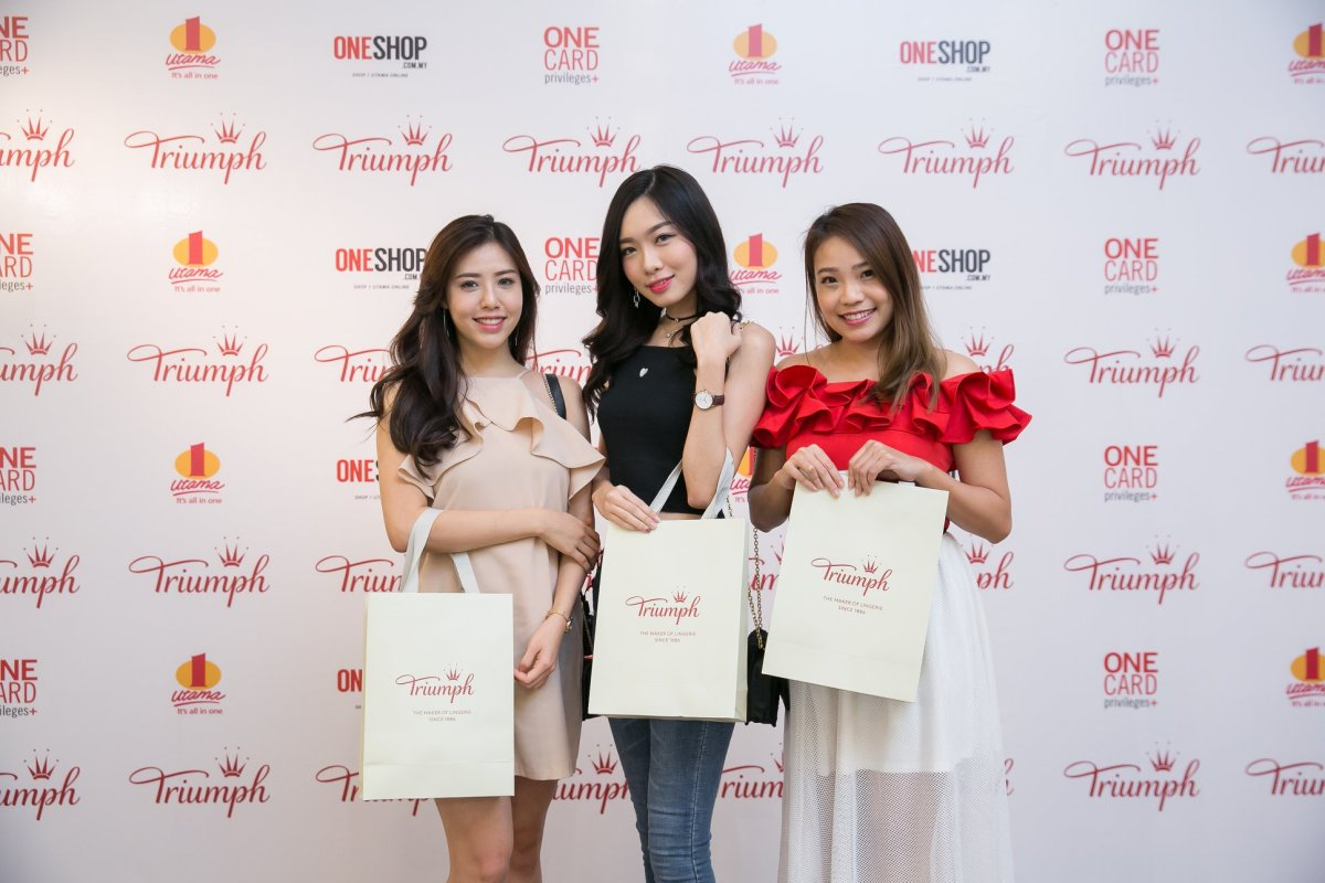 "Triumph Previews their #TogetherWeTriumph Campaign at 1 Utama's Fashion Week ""Style At One"" 2018"