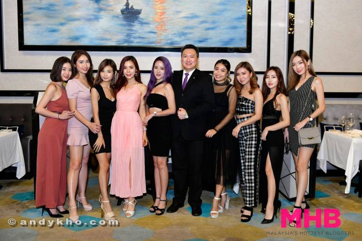 Social media influencers at Tangerine at The Face Suites Kuala Lumpur