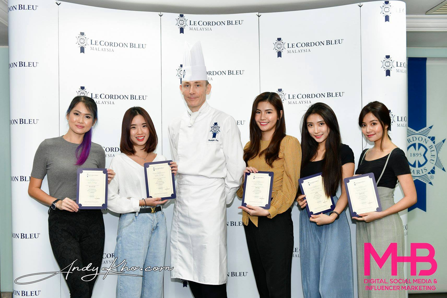 French Vanilla Charlotte with Raspberries Baking Workshop at Le Cordon Bleu Malaysia