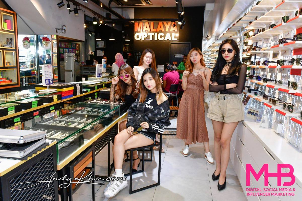 MHB Digital Visits Malaya Optical Optometrist and Designer Eyewear Boutique (2018)