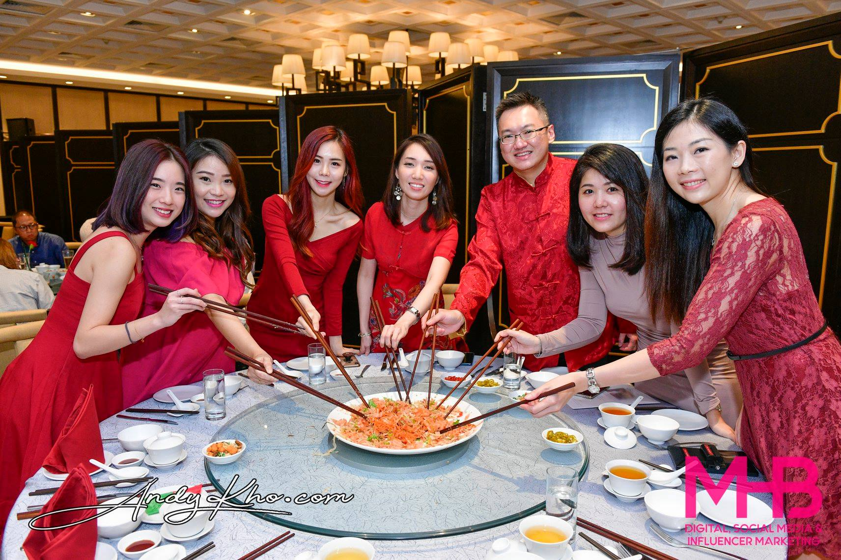 MHB Digital's Chinese New Year Dinner at Zuan Yuan, One World Hotel Petaling Jaya