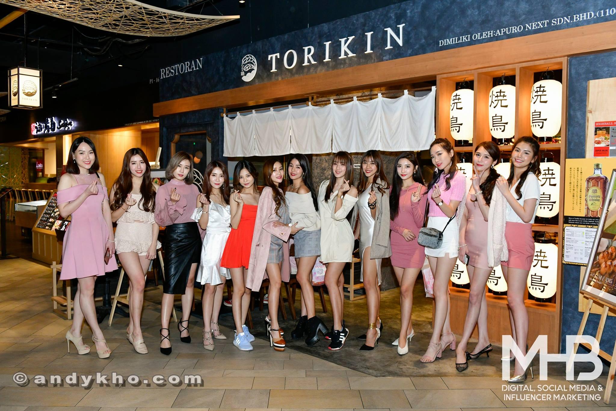 Canmake Tokyo x Torikin x MHB Digital Influencer Dinner